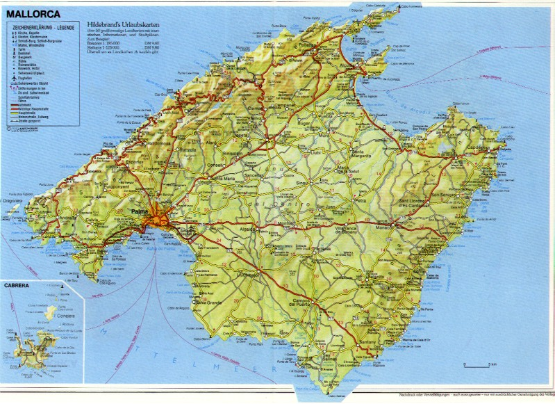 Map Of Mallorca - Male Models Picture
